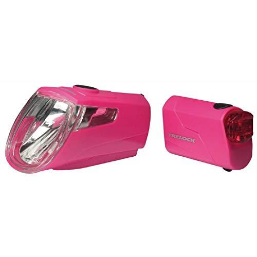 Trelock LI-ION Set LS 360 I-GO ECO LS 720, Pink, 8004332