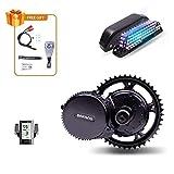 Bafang BBS02B 48V 750W BBS02 8FUN Kit de Bicicleta Eléctrica con batería y Cargador E Bike Motor 8fun Mid Conversion Kit para Bicicleta de Montaña Eléctrica