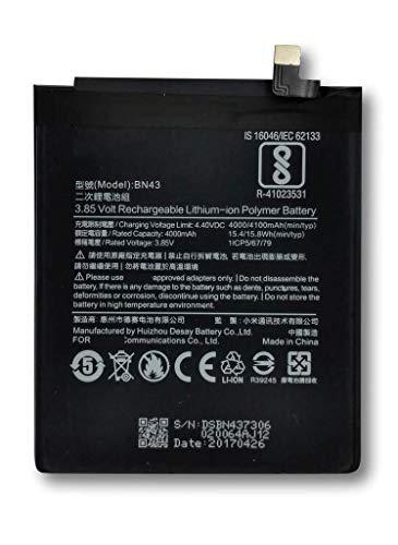Bateria Compatible con XIAOMI BN43 - XIAOMI REDMI 4X (32GB) (4100mAh)