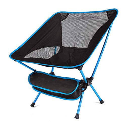 KNDJSPR Outdoor Camping Chair Folding, Hiking Travel Portable Backpack Storage Pouch, Quik Adjustable, for StadiumPicnic Choice with Optimal Beach