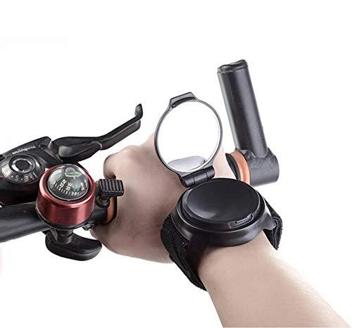 Fiets Pols Spiegel, Pols Band Bike Spiegels voor Veiligheid Fietsen Draaibare Armband Draagbare Fietsen Accessoires