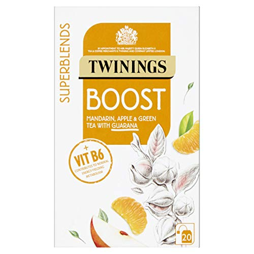 Twinings SuperBlends Boost, x Flavour Herbal Tea Bags F15991