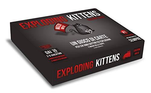 Asmodee - Exploding Kitten VM18, Gioco da Tavolo, Vietato ai minori di anni 18, Edizione in Italiano, 8541