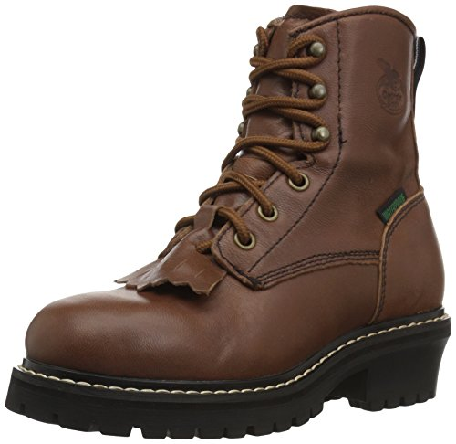 Georgia Boot Men's Georgia Athens Wellington Work Boot Work Shoe, Brown, 9.5 M US