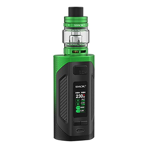 Smok Rigel E Zigarette - 230 Watt - 6,5ml Tankvolumen - Farbe: schwarz-grün