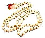 Eclectic Shop UK Tulsi Tulasi Chilka Krishna Japa Mala 8.5mm Cuentas Rosario 108 con Cuentas Yoga Hindú