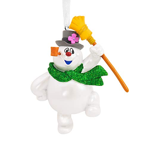 Hallmark Christmas Ornament, Frosty the Snowman With Broom