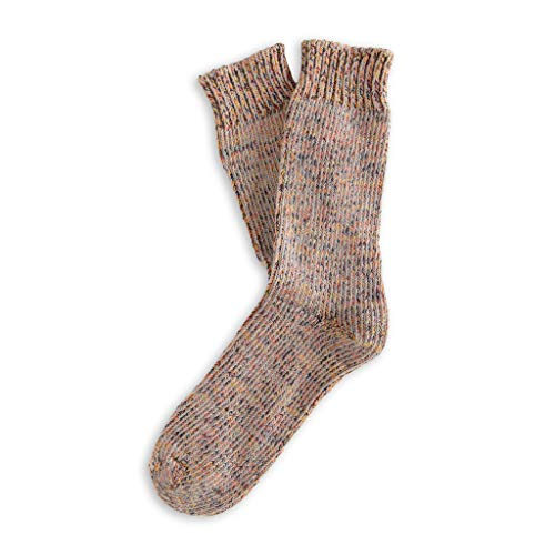 THUNDERS LOVE | Unisex Socks | Size 36-39 | Recycled True Model | Camel Socks | Cotton Socks | Ecological Socks | Recycled Cotton 90prozent | Finely Ribbed Knit | Durability and Resistance