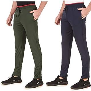Cynak Men's & Boys Dri-Fit Trackpants | Sports Trackpants (Pack of 2 Trackpants)