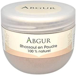 100% Natürliche und Reine Tonerde Heilerde Rhassoul Pulver aus Marokko Für Gesicht Haare und Körper Als Badezusatz