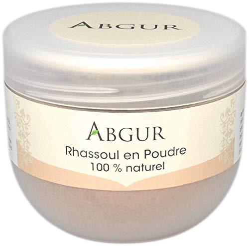 100% Natürliche und Reine Tonerde Heilerde Rhassoul Pulver aus Marokko Für Gesicht Haare und Körper Als Badezusatz 200g