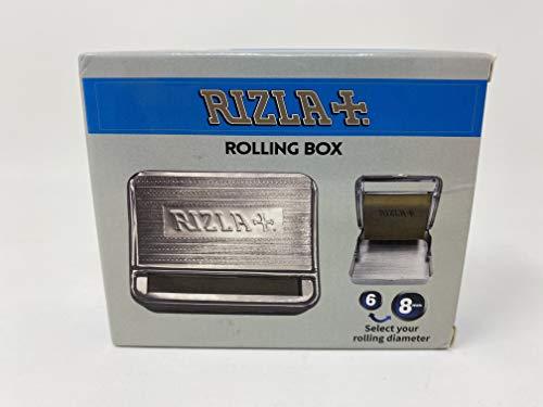 Boîte à rouler automatique en métal, idéale pour le papier à rouler Rizla