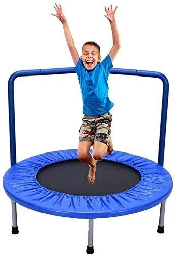 kaige Suge Plegable niños Mini trampolín, Fitness Rebounder con la barandilla y...