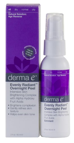 Derma E: Evenly Radiant Overnight Peel With Alpha Hydroxy Acids, 2 Oz (6 pack)ck)