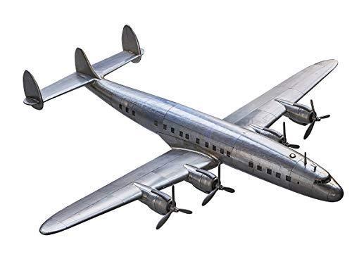 Linoows G563 : Lockheed Super Constellation Grand Maquette Avion En Aluminium
