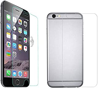 Front and Back 9H Tempered Protective Glass Screen Guard for Apple iPhone 6 Plus/ 6S Plus - Clear