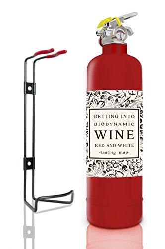 Mehrzweck-1kg ABC Pulver Feuerlöscher. Voll CE. Ideal für Autos Häuser und Arbeitsplatz. Fire Rating 8A 34B C Wein Rot