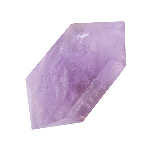 Hilitand Piedra de Cristal púrpura, Cuarzo Natural Amatista Columna de Cristal púrpura Arte de Piedra Decoración del hogar