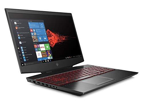 "ELUK OMEN 15t NVIDIA RTX Red Legend Gaming Laptop (Intel i7-10750H CPU 8GB GDDR6 2070 VR Ready 15.6"" 144Hz Full HD IPS, Thunderbolt 3, Windows 10 Home, 256GB PCIe SSD & 8GB RAM) Gamer PC"