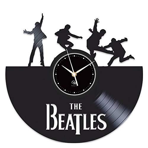 L'horloge murale des Beatles en vinyle