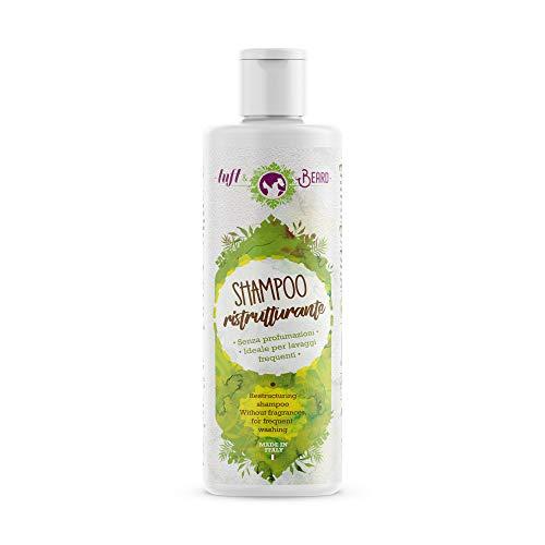 Shampoo ristrutturante neutro e senza profumazioni con oli biologici di lino e extravergine di oliva - Cosmetico naturale 100% MADE IN ITALY - Tuft&Beard