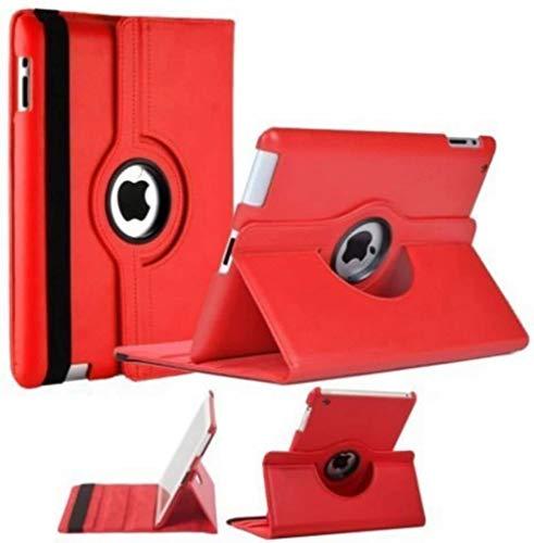 iPad 2, 3, 4 Beschermhoes- 360 graden draaibare cover - - Rood