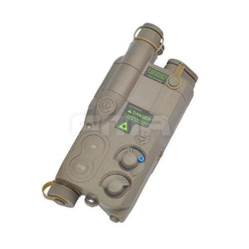 AIRSOFT DUMMY AN/PEQ16 BATTERY BOX CASE TAN DE LIPO NIMH AEG RIS RAS RAIL PEQ 16 @ HELMET WORLD