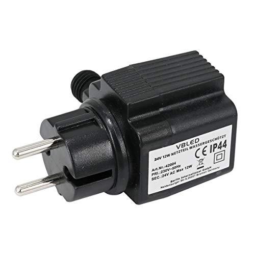 VBLED® Außen Steckernetzteil Trafo Transformator IP44 12W 24V AC