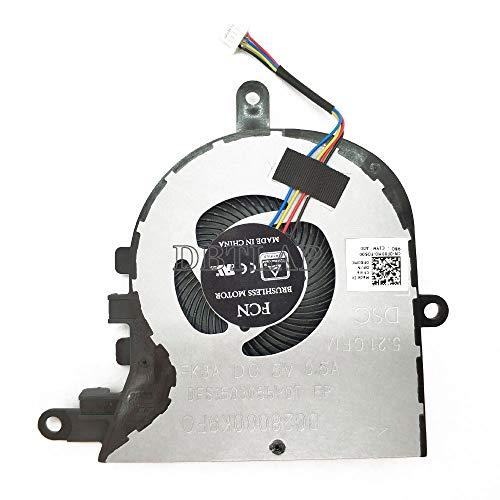 DBTLAP CPU Lüfter kompatibel für Dell Latitude 3590 L3590 E3590 Inspiron 15 5570 5575 Lüfter NPFW6 0NPFW6