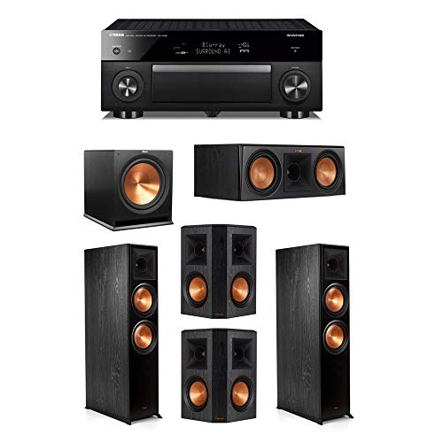 Fantastic Prices! Klipsch 5.1.2 System - 2 RP-8060FA Speakers,1 RP-600C,2 RP-502S Speakers,1 R-115SW...