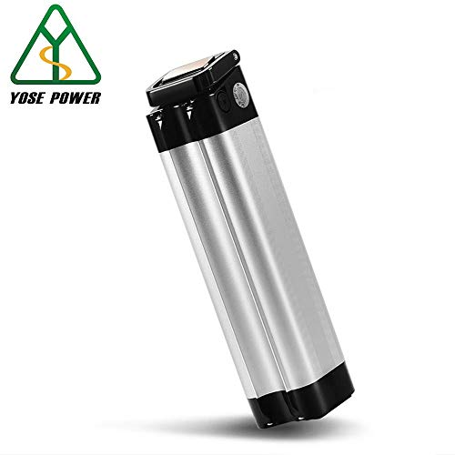 YOSE POWER Ebike Akku 24V 10Ah (259Wh), E-Bike Batterie mit Ladegerät für Prophete Alurex, Aldi, Hofer, Praktiker, Hagebaumarkt (Nicht für Ruhrwerk Tchibo!)