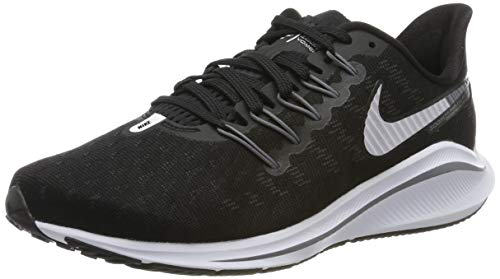 Nike Air Zoom Vomero 14 Women's Running Shoe Wide (D) Black/White-Thunder Grey 10.0