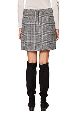 Esprit 118ee1d013 Falda, Negro (Black 001), 38 (Talla del Fabricante: 36) para Mujer