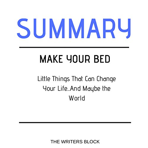 Summary: Make Your Bed audiobook cover art