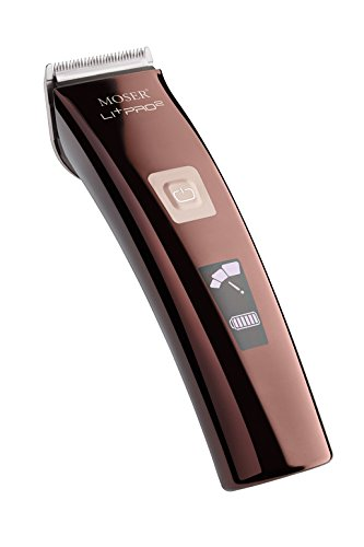 MOSER 1888 Li-Pro 2 Professional Cordless Hair Clipper 3 Speed 1888-0050 Dual Voltage 100-240V by MOSER