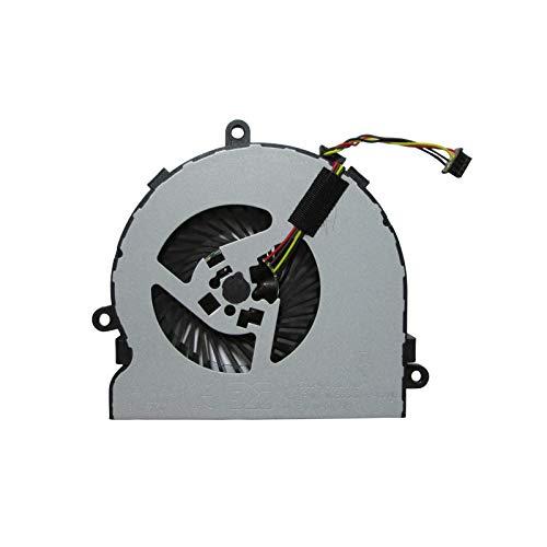 UTS-Shop Ventilador de procesador compatible con HP Pavilion Probook 250 255 G4 G5 G6 / 15-AC/TPN-C129 / 15-BA 15-AY