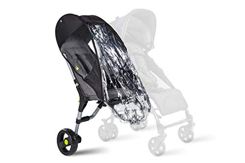 Buggypod 2000 0018 - Lite raincover, color negro