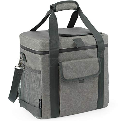 Large Picnic Cooler Tote Bag Waterproof Insulated Cooler Bag for Outdoor Living Camping