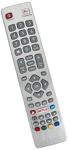 ALLIMITY SHW-RMC-0129 Afstandsbediening Vervangen voor Sharp Aquos with Netflix F-Play LC-32HG5342KF LC-40CFG3021KF LC-40FG5142KF LC-40FG5151KF LC-40FG5342KF LC-43CFG6001KF LC-49CFG6002KF LC-50CFG6001KF