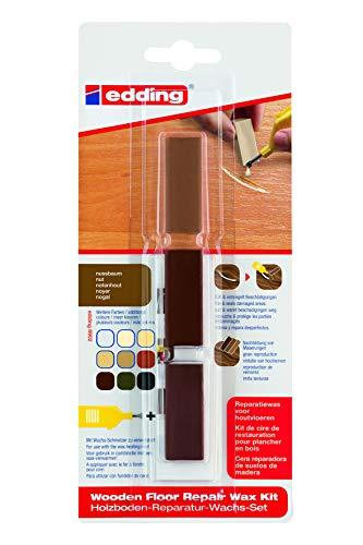Edding 4-8902-1-4602 - Marcador (multi) reparación suelo de madera, color nogal