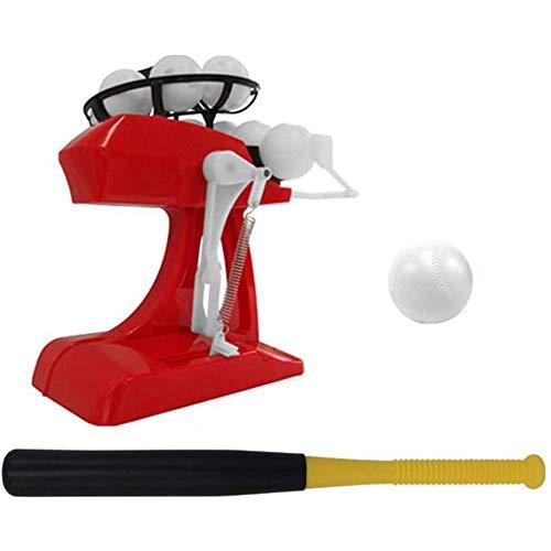 DXQDXQ Toys Kids Baseball Launcher Set Pitching Game Machines Automatic...