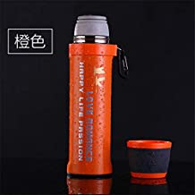 Bullet Insulation Cup Student Sports Kettle Outdoor Portable Water Cup Home Essential 550Ml Orange