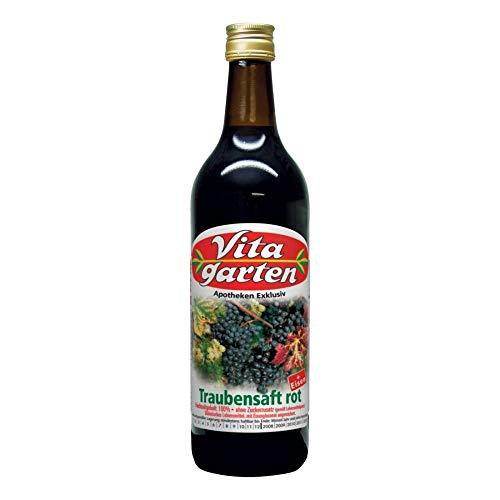 VITAGARTEN roter Traubensaft+Eisen Einwegflasche 200 ml