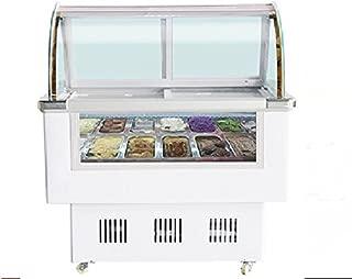 12 Pan Gelato Ice Cream Freezer Display Cases Display Chest Freezer