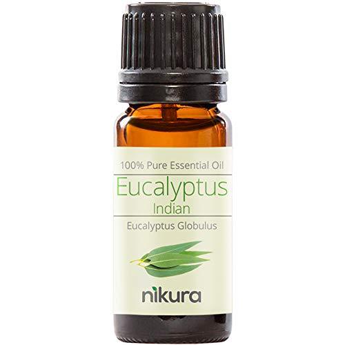 Nikura 100% Pure Eucalyptus (Indian) Essential Oil - (10ml)