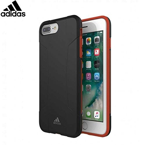 Adidas Performance - Funda para Apple iPhone 6/6s/7 Plus - Negro/Rojo
