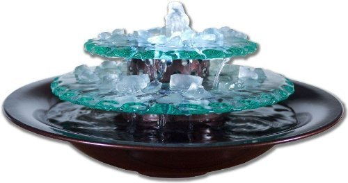 Water Wonders WWMLDG Moonlight Tabletop Water Fountain
