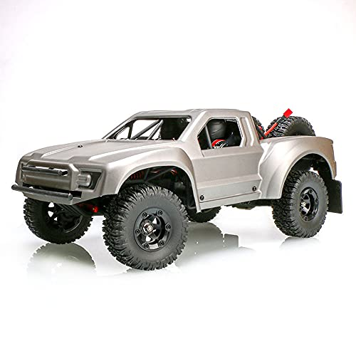 Zpzzy 1/12 4WD Off-Road Desert RC Truck, 2.4G Brushless Remote Control Beach Car, 55km / h High Speed RC Vehicle, RC Distance 80 Meters RC Car, Professional RC Car Player, Regalo de cumpleaños