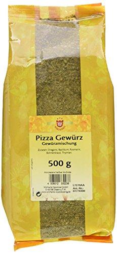 Wichartz Würzkönig Pizzagewürz, 4er Pack (4 x 500 g)