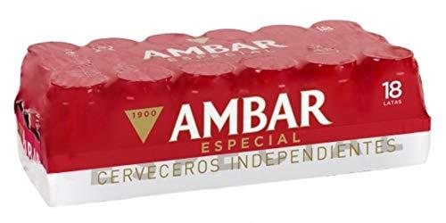 Bier Ambar Spezial 18x33cl (Pack 18 Dosen)
